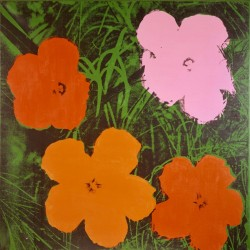 Andy Warhol, Four-Foot Flowers, 1964<small>&copy Heidi Horten Collection</small>