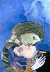 Marc Chagall, Les Amoureux, 1916<small>&copy The Heidi Horten Collection</small>