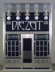 Facade ot the Telegram Office of Die Zeit, 1902<small>&copy Wien Museum</small>