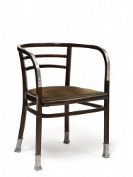 Chair with Armrests from the Postal Savings Bank, 1906<small>&copy Wien Museum / Photo: Peter Kainz</small>