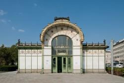 Otto Wagner Pavillon Karlsplatz<small>&copy Wien Museum / Photo: Hertha Hurnaus</small>