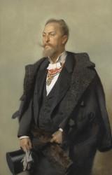 Portrait Otto Wagner, 1896<small>&copy Wien Museum</small>