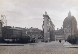 Facade of the City Museum on Karlsplatz, 1910<small>&copy Wien Museum</small>