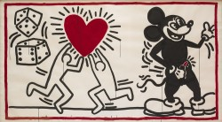 Untitled, 1982<small>&copy Keith Haring Foundation</small>