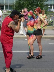 Vienna Pride March (Regenbogenparade)<small>&copy Vindobona</small>