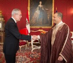 Mohamed Mezghani, Ambassador of the Republic of Tunisia<small>&copy www.bundespraesident.at / Carina Karlovits / HBF</small>