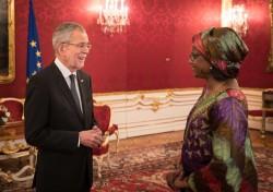 Botschafterin der Republik Niger, Fatima Sidikou<small>&copy www.bundespraesident.at / Peter Lechner / HBF</small>