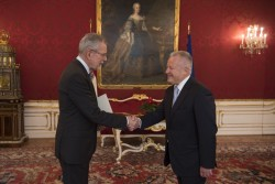 Botschafter von Montenegro, Zeljko Perovic<small>&copy www.bundespraesident.at / Carina Karlovits / HBF</small>