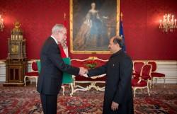 Ambassador of Pakistan to Austria: H.E. Mr. Mansoor Ahmad Khan<small>&copy Carina Karlovits/HBF</small>