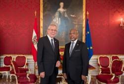 Ambassador of Guyana to Austria, H.E. Mr. David Hales<small>&copy Carina Karlovits/HBF</small>
