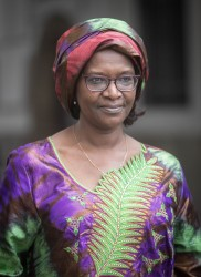 Ambassador of the Republic of Niger to Austria: H.E. Ms. Fatima Sidikou<small>&copy www.bundespraesident.at / Daniel Trippolt / HBF</small>