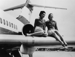 Austrian Airlines Uniform 1974-1980<small>&copy Flickr / Austrian Airlines [CC BY-SA 2.0]</small>