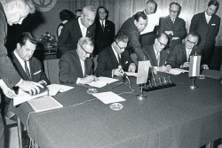 50 years natural gas supply contract signing<small>&copy OMV Aktiengesellschaft</small>