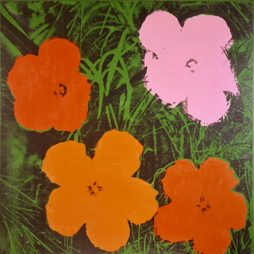 Andy Warhol, Four-Foot Flowers, 1964<small>© The Heidi Horten Collection</small>