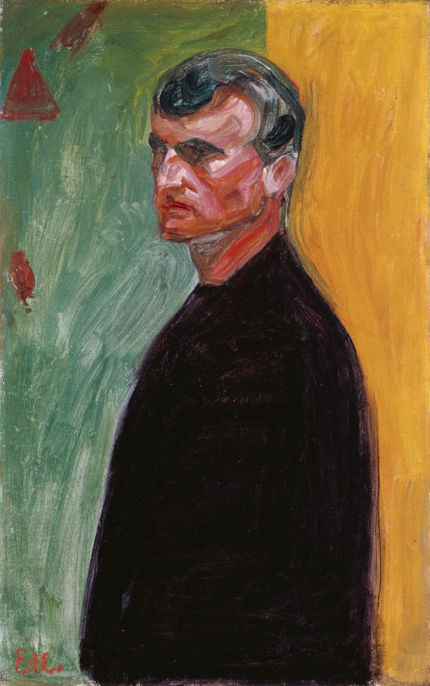Edvard Munch, Self-Portrait 1904<small>© The Heidi Horten Collection</small>