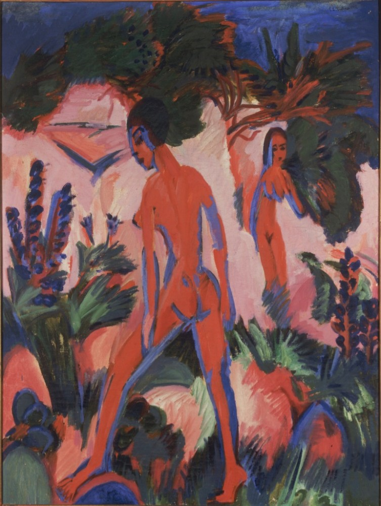 Ernst Ludwig Kirchner, Rote Akte, 1912<small>© The Heidi Horten Collection</small>