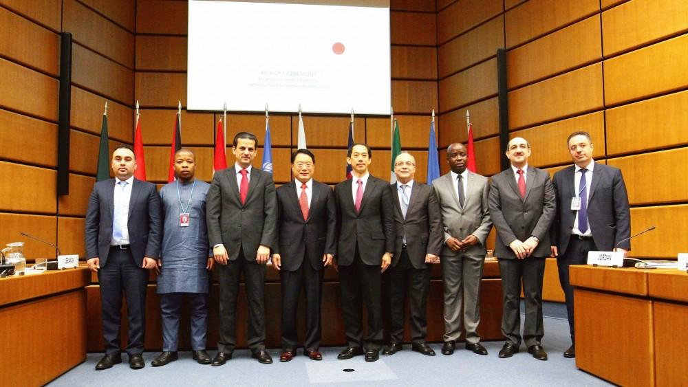Ambassador Kitano, Mr. Li Yong, Representatives<small>© UNIDO</small>