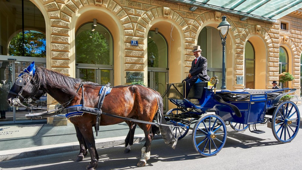 Palais Hansen Kempinski Vienna - Fiaker<small>© Palais Hansen Kempinski Vienna</small>