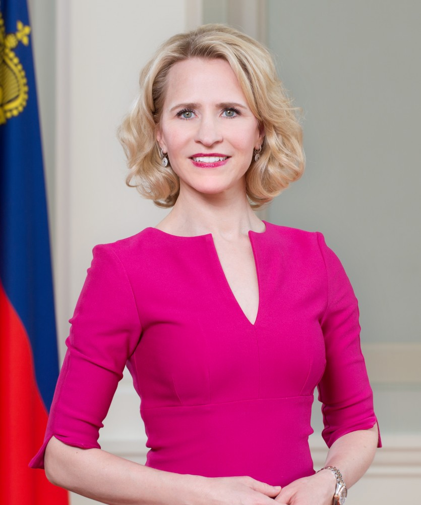 Aurelia Frick, Minister of Foreign Affairs<small>© Wikimedia / Roland Korner (Government of Liechtenstein)</small>