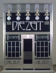 Facade ot the Telegram Office of Die Zeit, 1902<small>© Wien Museum</small>