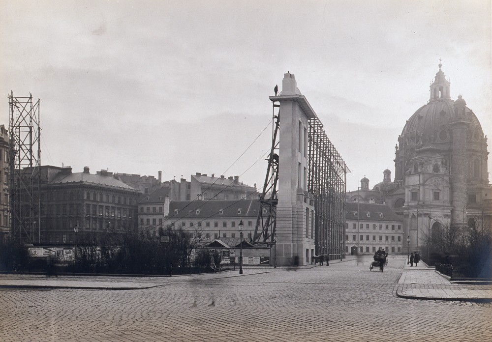 Facade of the City Museum on Karlsplatz, 1910<small>© Wien Museum</small>