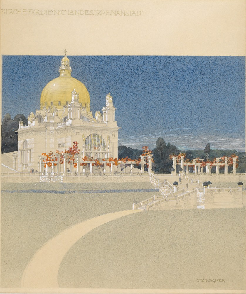 View of the Church at Steinhof, 1902/03<small>© Wien Museum</small>