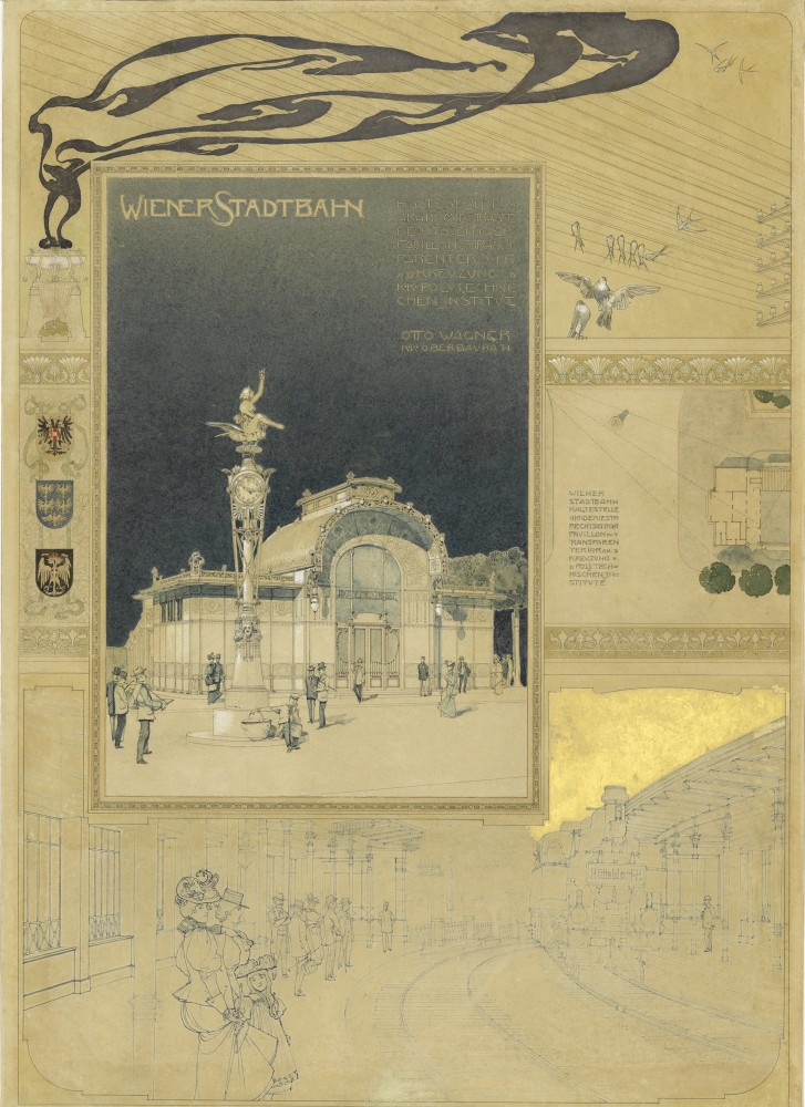 Presentation about the Subway, 1898<small>© Wien Museum</small>
