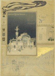 Presentation about the Subway, 1898<small>&copy Wien Museum</small>