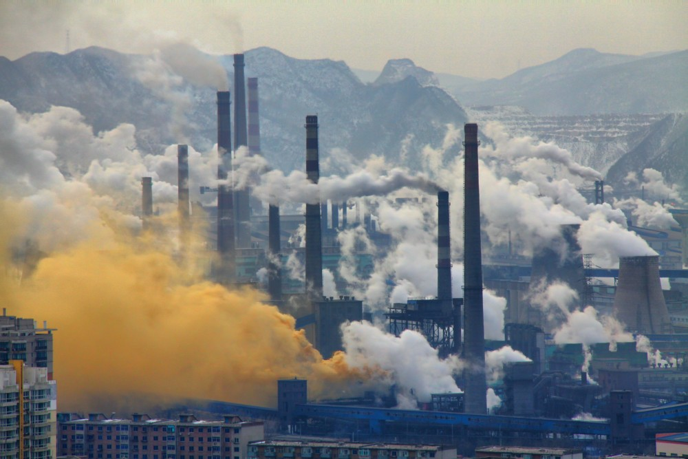 Chengdu, China - Steel Industry<small>© Wikimedia Commons / Andreas Habich [CC BY-SA 3.0]</small>