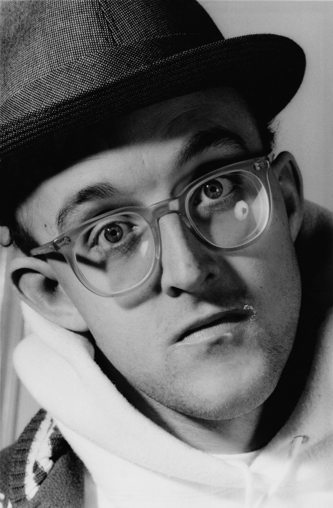 Keith Haring (from the series Faces), 1989/2014<small>© Gottfried Helnwein</small>