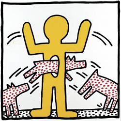 Untitled, 1982<small>&copy The Keith Haring Foundation</small>