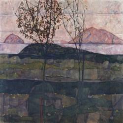 EGON SCHIELE, Setting Sun, 1913<small>&copy Leopold Museum / EGON SCHIELE, Setting Sun, 1913</small>