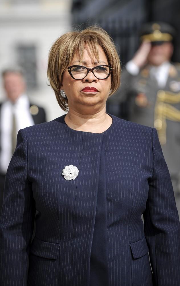 Teodolinda Rosa Rodrigues Coelho, Ambassador of Angola<small>© www.bundespraesident.at / Clemens Schwarz / HBF</small>