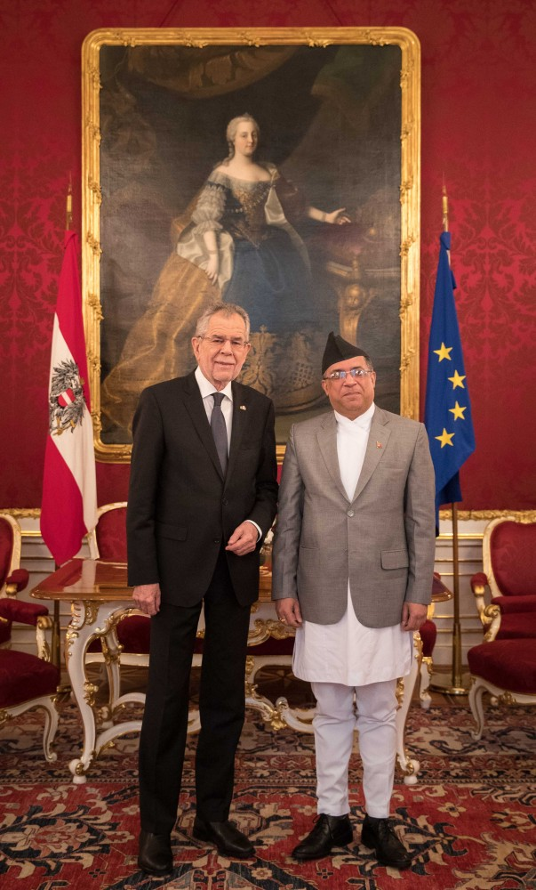 Nepalese Ambassador to Austria Prakash Kumar Suvedi<small>© www.bundespraesident.at / Peter Lechner / HBF</small>
