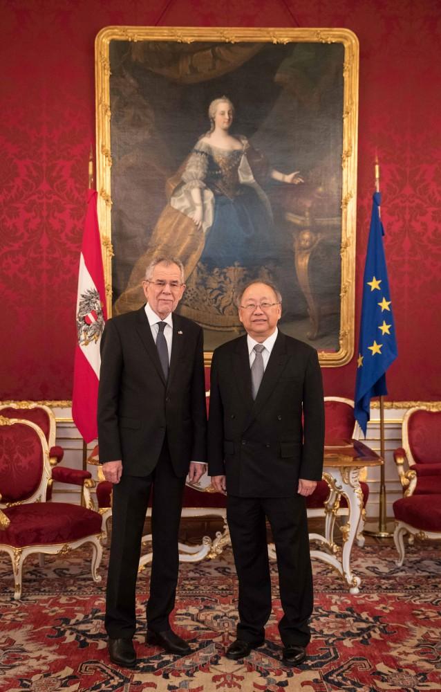 Botschafter der Republik Singapur, Heng Wing Chan<small>© www.bundespraesident.at / Peter Lechner / HBF</small>