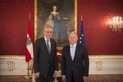 Botschafter von Montenegro, Zeljko Perovic<small>© www.bundespraesident.at / Carina Karlovits / HBF</small>