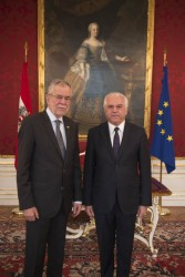 Botschafter der Republik Irak, Jabir Habeb Jabir Hemaidawi<small>&copy www.bundespraesident.at / Carina Karlovits / HBF</small>