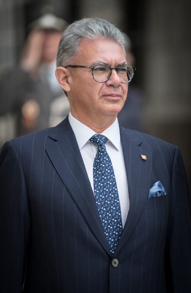Botschafter der Republik Ecuador, Carlos Alberto Játiva Naranjo<small>© www.bundespraesident.at / Daniel Trippolt / HBF</small>