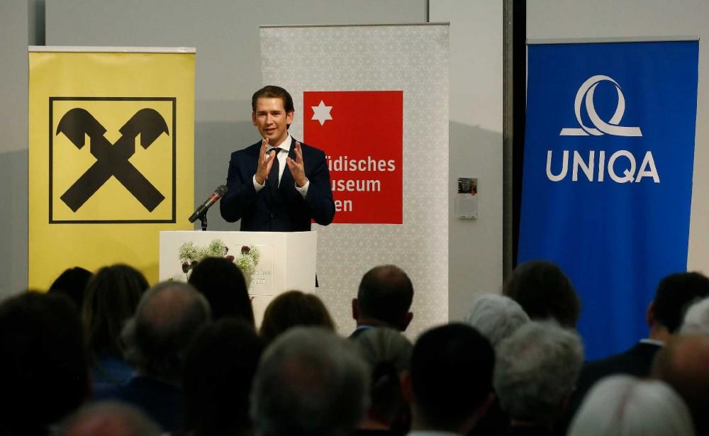 Opening of the exhibition by Sebastian Kurz<small>© Bundeskanzleramtes (BKA) / Dragan Tatic</small>
