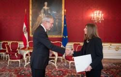Ambassador of Cyprus to Austria: H.E. Ms. Elena Rafti<small>&copy Carina Karlovits / HBF</small>