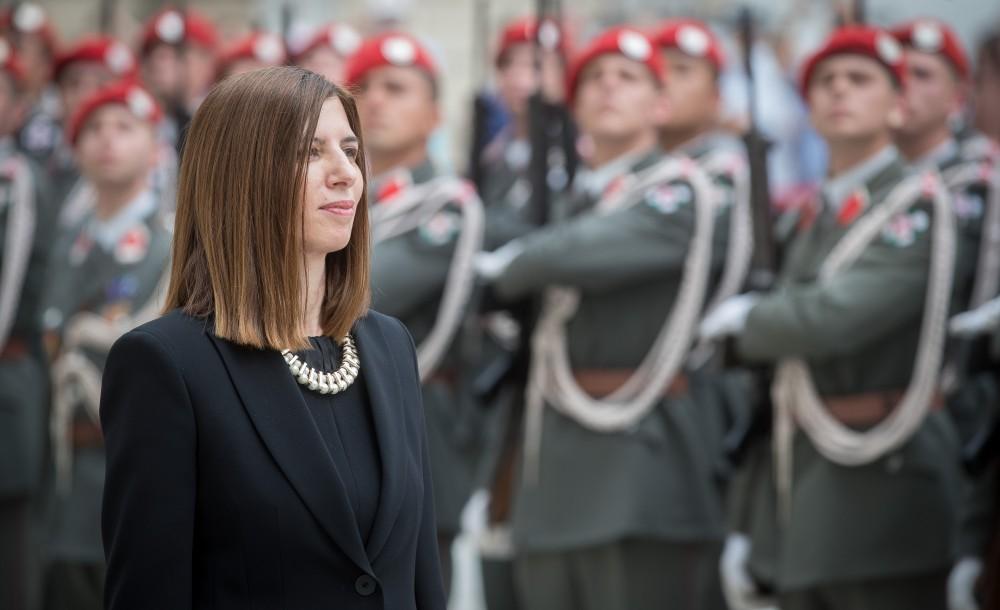 Ambassador of Cyprus to Austria: H.E. Ms. Elena Rafti<small>© Daniel Trippolt/HBF</small>