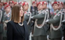 Ambassador of Cyprus to Austria: H.E. Ms. Elena Rafti<small>&copy Daniel Trippolt/HBF</small>