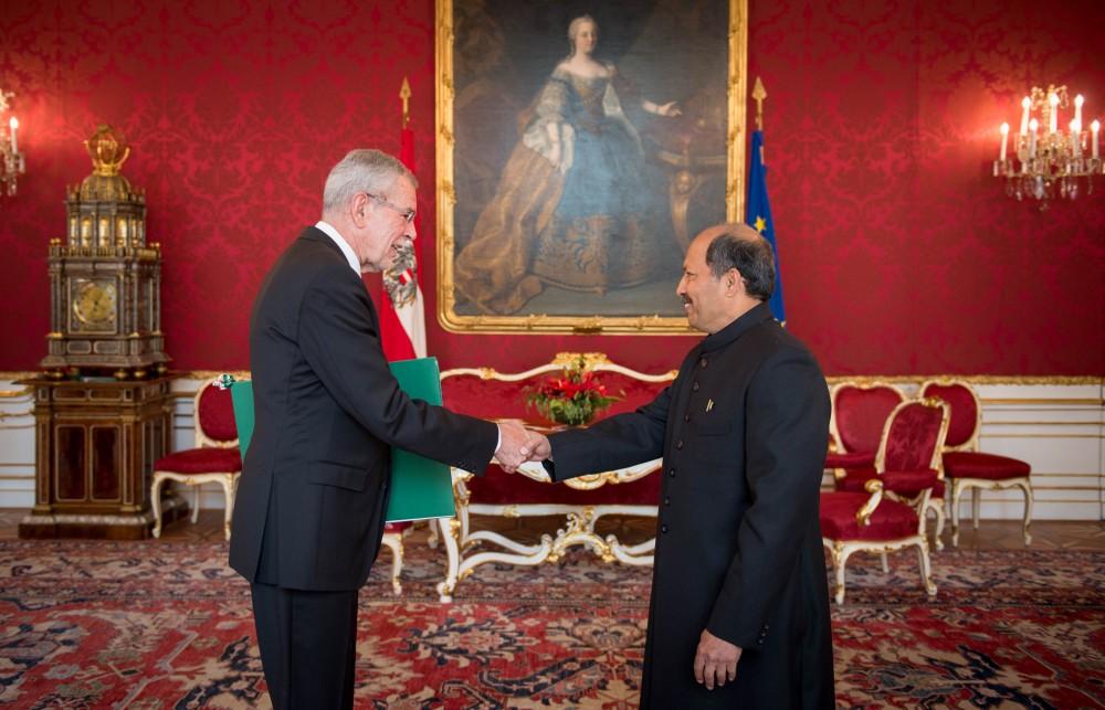 Ambassador of Pakistan to Austria: H.E. Mr. Mansoor Ahmad Khan<small>© Carina Karlovits/HBF</small>
