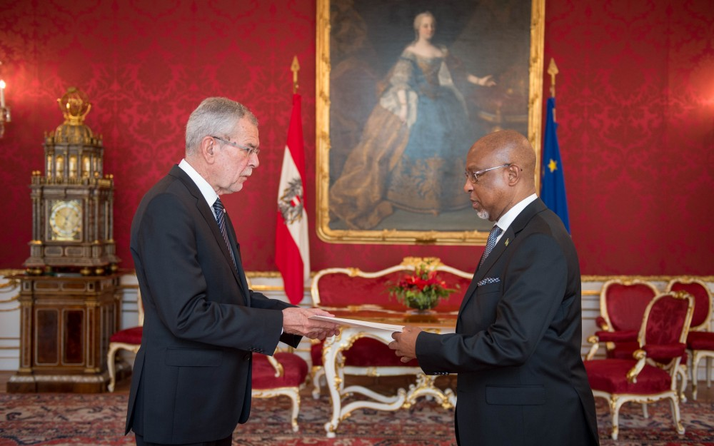 Ambassador of Guyana to Austria, H.E. Mr. David Hales<small>© Carina Karlovits/HBF</small>