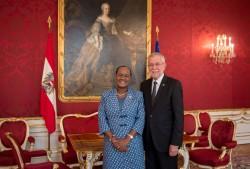 Ambassador of Botswana H.E. Ms. Athalia Lesiba Molokomme<small>© Carina Karlovits</small>