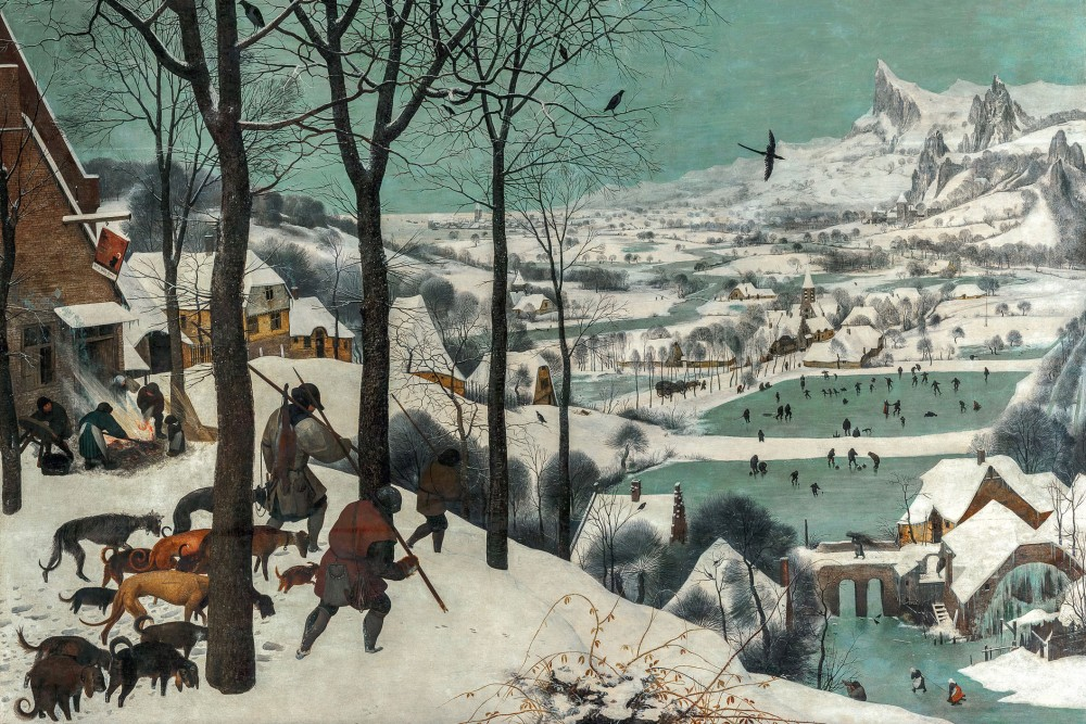 Pieter Bruegel the Elder - Hunters in the Snow<small>© KHM-Museumsverband</small>
