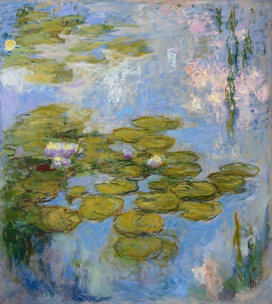 Claude Monet, Seerosen 1916-1919<small>© Albertina / Fondation Beyeler, Riehen/Basel, Sammlung Beyeler</small>