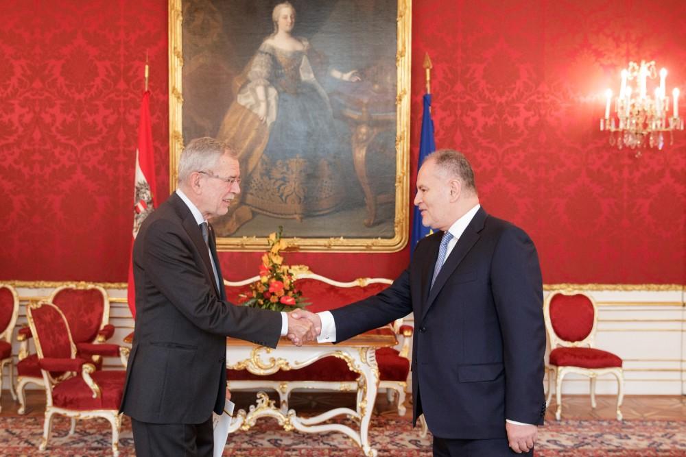 Ambassador of Colombia to Austria - Miguel Camilo Ruiz Blanco<small>© www.bundespraesident.at / Peter Lechner / HBF</small>