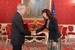 Ambassador of Jordan to Austria - Mrs. Leena Al-Hadid<small>&copy www.bundespraesident.at / Peter Lechner / HBF</small>