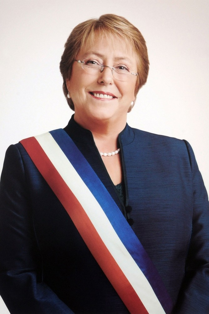 Michelle Bachelet, UN High Commissioner for Human Rights<small>© Wikimedia Commons / Gobierno de Chile [CC BY 3.0 cl]</small>